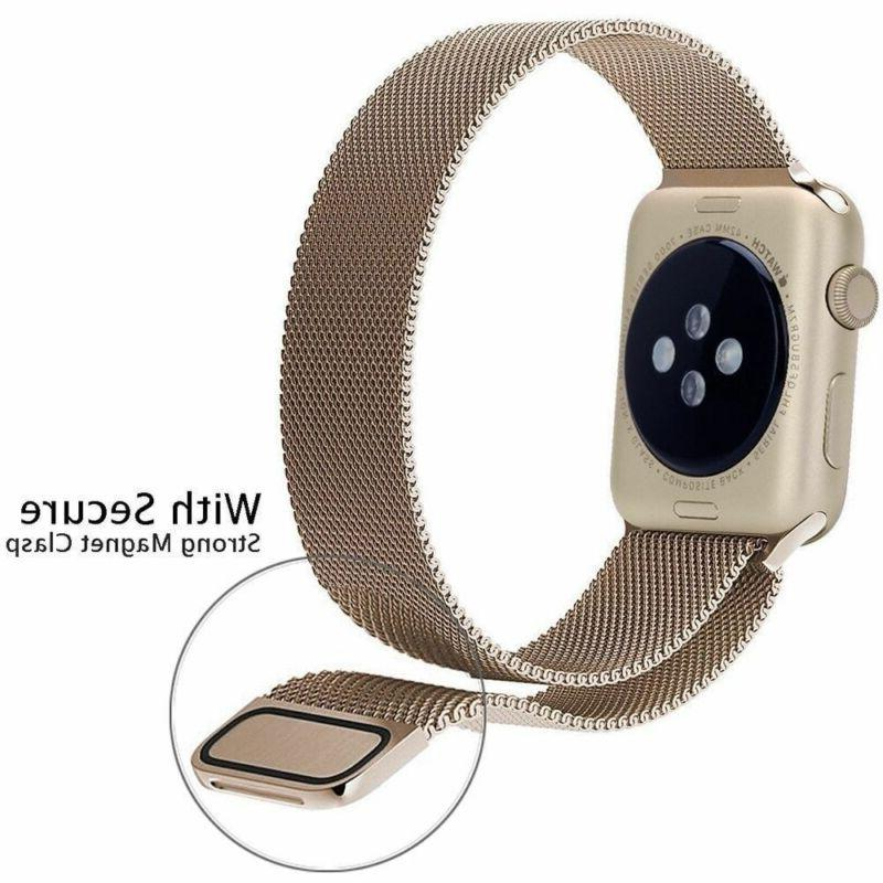 For Watch Series 3/2/1 Stainless Steel iWatch Band
