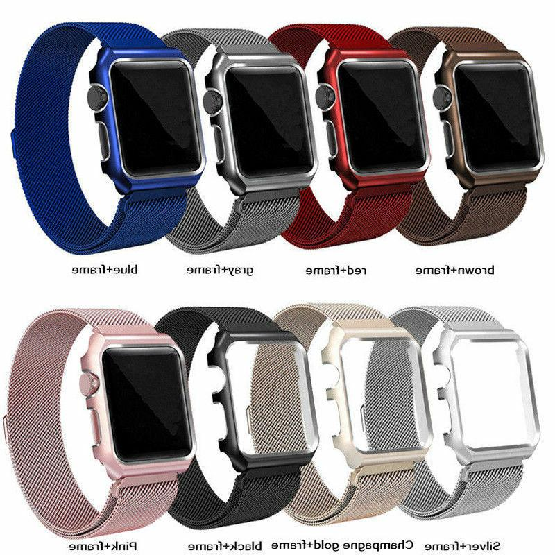 For Apple 3/2/1 Steel iWatch Band Strap