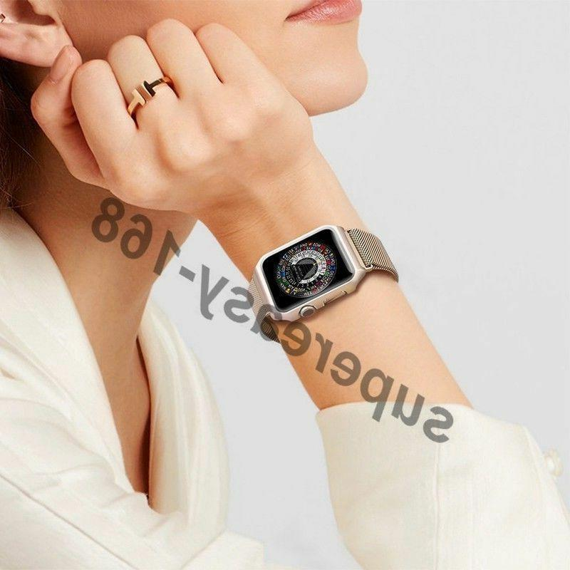For Apple Series 3/2/1 Milanese iWatch Band 38/42MM