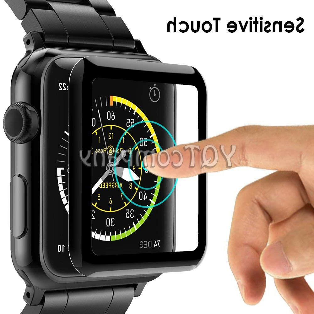 9H Tempered Glass Screen Protector For Apple Watch 5 4 3 2 1