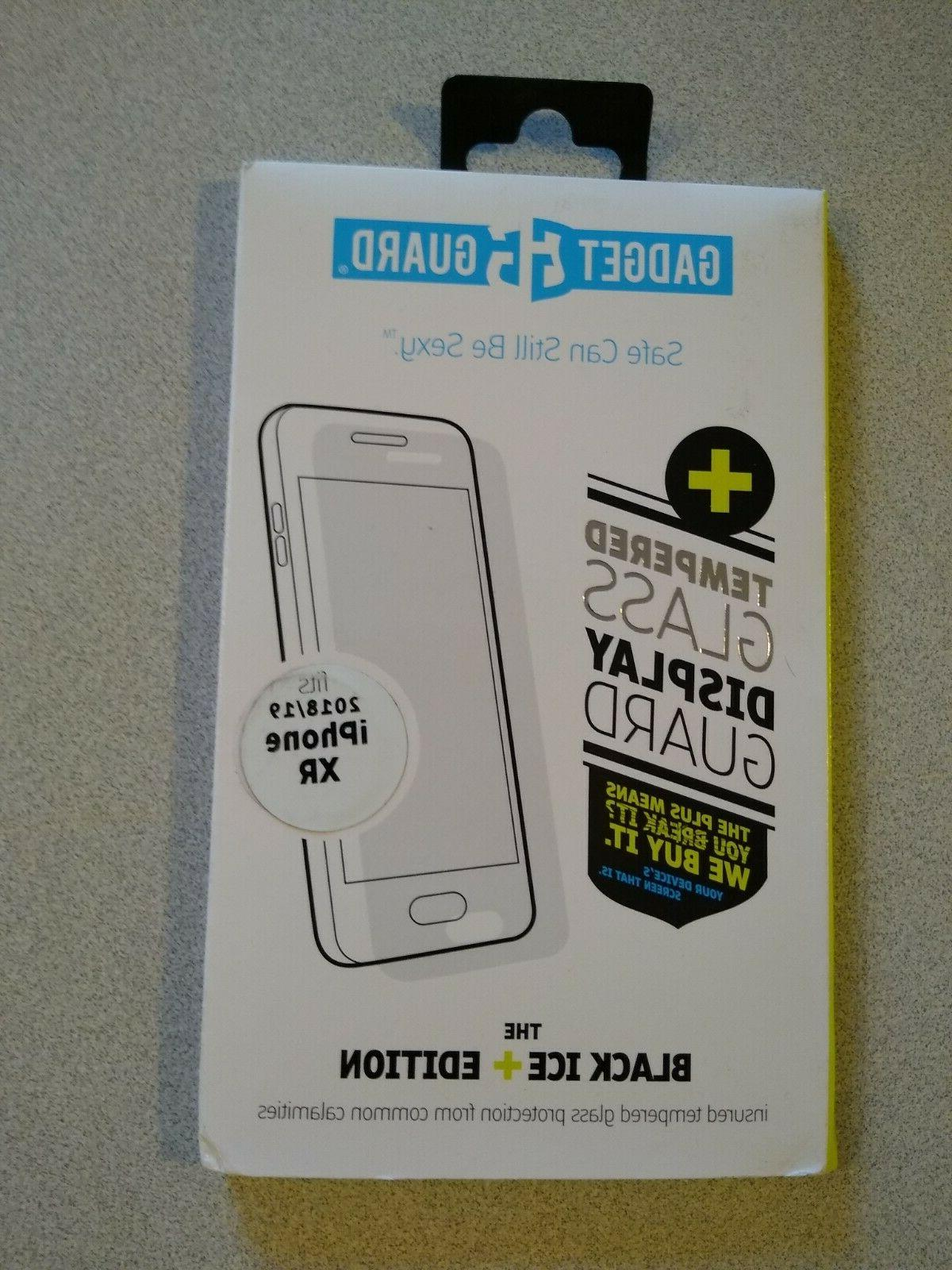 black ice edition tempered screen protector