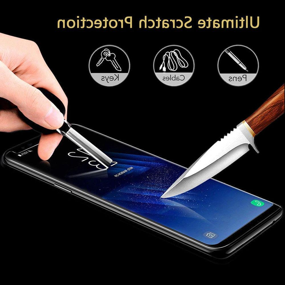 Case Friendly Tempered Screen Note 9 S8 Plus