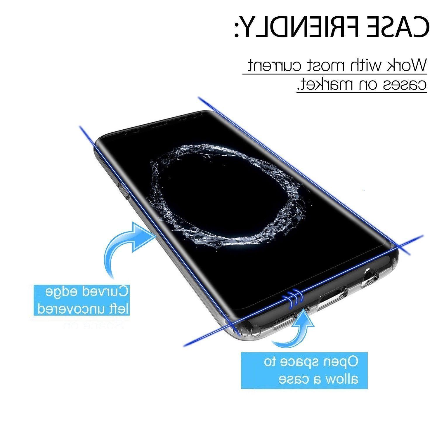 Case Friendly Screen Protector Note 9 S8 Plus