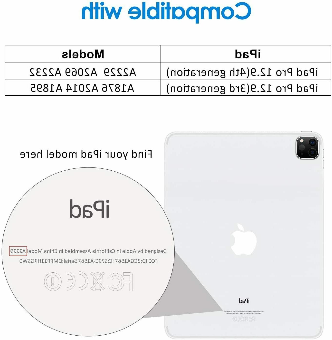 """JETech Screen Protector for iPad 12.9"""" Glass"""