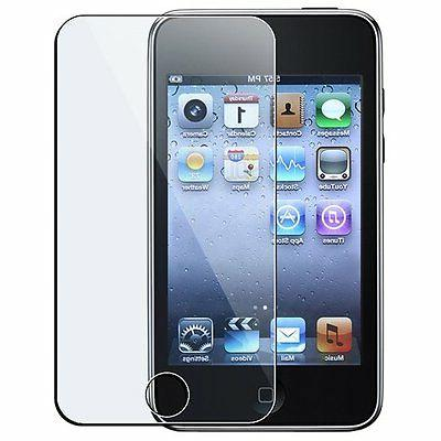 crystal clear screen protector for apple ipod