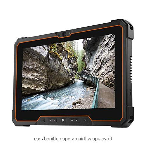 BoxWave Dell 7212 Rugged Extreme Tablet Screen Protector, ] Film Skin Scratches for Rugged