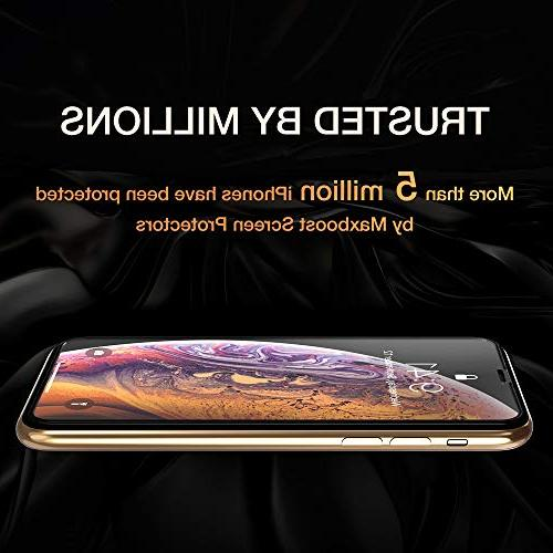 """Maxboost Edge-to-Edge for Apple iPhone and iPhone X Full Protector iPhone Xs/X 5.8""""2018 2017"""