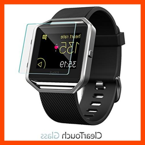 Fitbit Screen Protector Boxwave 9H Tempered Protection