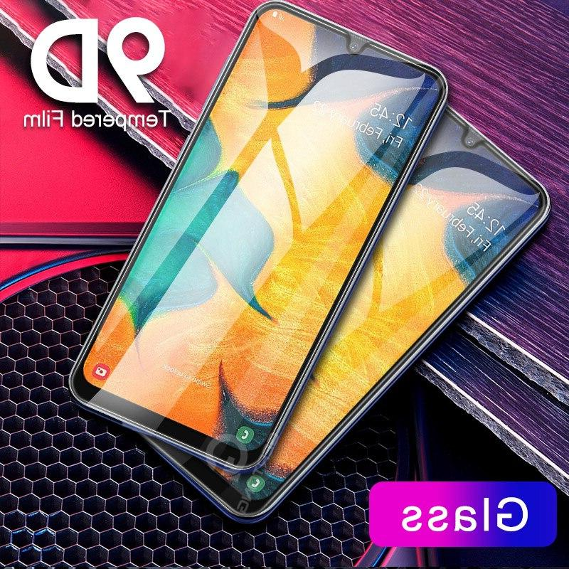 For glass 9D Cover For <font><b>Samsung</b></font> a50 a70 a20s 5G a60 A9 a5 6