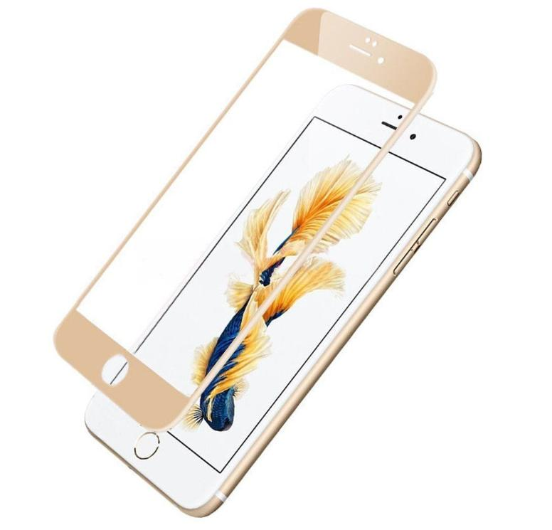 Full Coverage Tempered Screen Protector For iPhone 6 8 Plus X