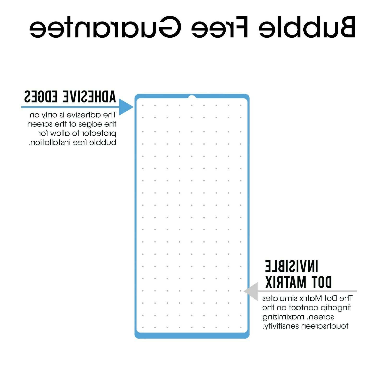 Galaxy Note Plus amFilm Real Cover Tempered Glass