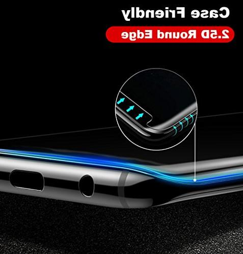 Galaxy 9 Protector Glass, 2.5D Tempered Glass Protector with UV Light Samsung Galaxy 9