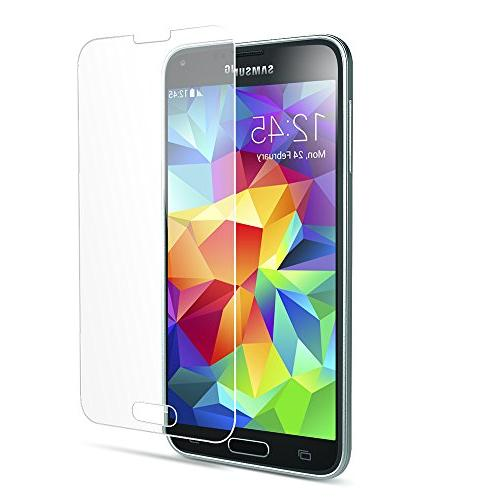 Galaxy S5 Maxboost Screen for Samsung Galaxy Ballistic Glass Protection Fit Accurate -