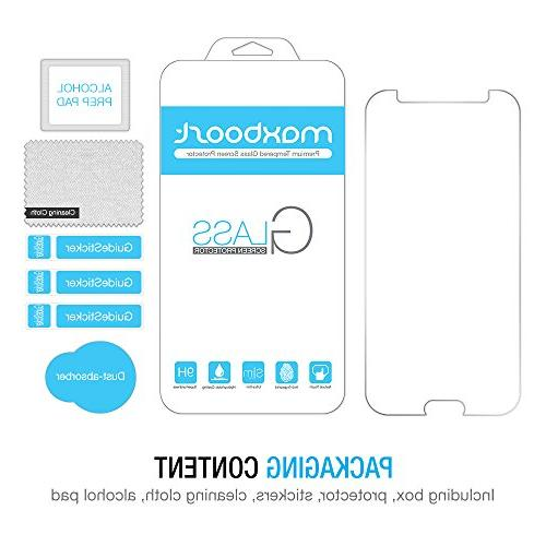 Maxboost Screen Protector, Protector Samsung Glass Fit Touch - Clear