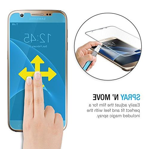 Galaxy Maxboost Samsung Galaxy S7 Screen Protector Thin Film Set Front+Back Film Front