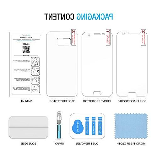 Galaxy S7 Maxboost Samsung Galaxy S7 Screen Film Set - Full Front+Back Film Case Front