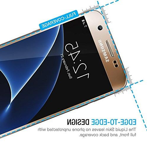 Galaxy S7 Maxboost Galaxy Screen Protector Set Full Front+Back Film and Front Film