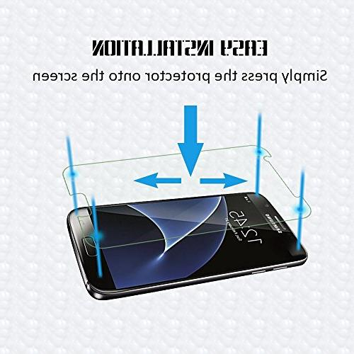 Galaxy Glass Hardness,Bubble Screen Compatible with Samsung Galaxy S7