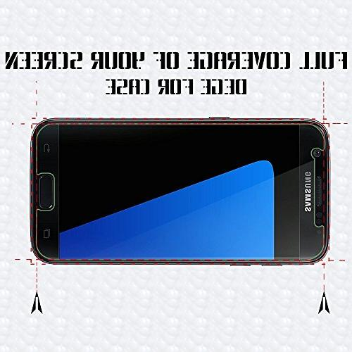 S7 Glass Protector, 9H Hardness,Bubble Free Screen Protector S7