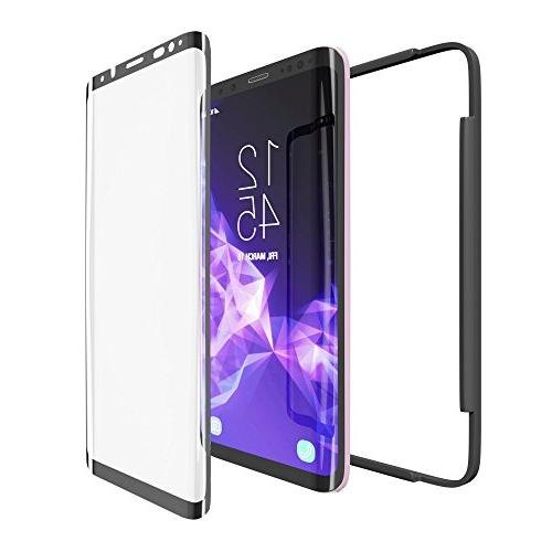 Galaxy S9 Plus Protector amFilm Curved Screen Samsung Galaxy Plus Protector Application Tray