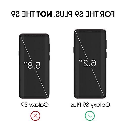 Galaxy S9 Protector Curved Dot Screen Protector Easy Application Tray