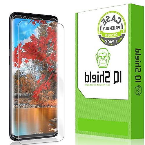 , IQ Bubble-Free Screen Protector for Galaxy S9 HD Clear Film