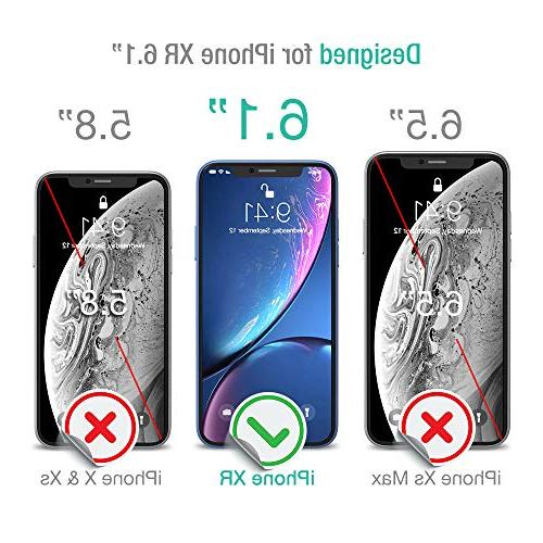 XDesign Protector Designed for Apple XR Tempered Glass with Accurate and Impact Absorb XR 3