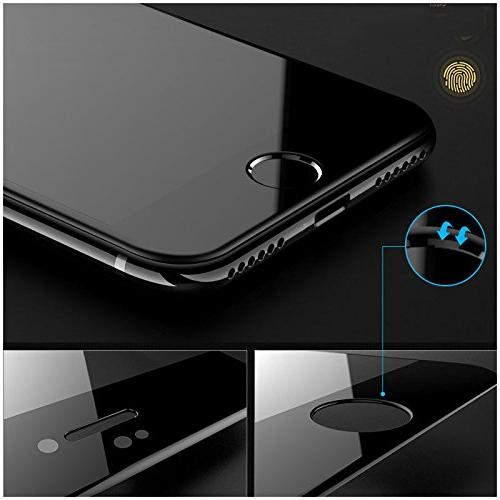 COOCOl Hardness 5D Curved Edge Full Glass Glass iPhone 6 6S X Plus Screen Protector Film iPhone X
