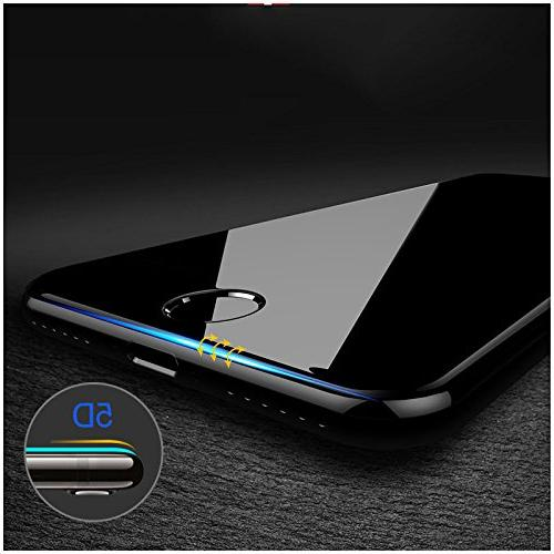 COOCOl Hardness 5D Edge Glass 7 Glass 6S 8 Screen Protector