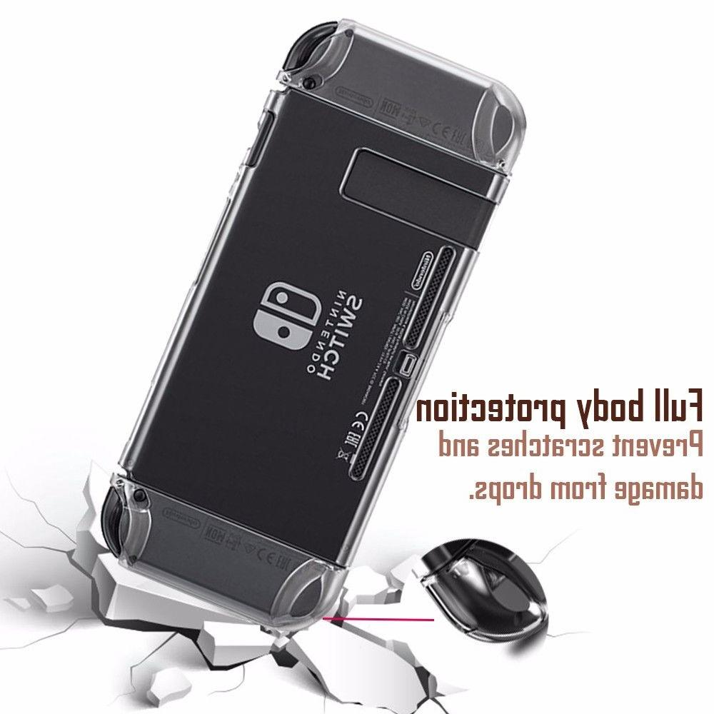 HD Front Film + Hard Clear Case Cover Nintendo