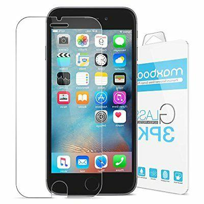 iPhone 6S Plus Screen Protector, Maxboost  Tempered Glass Sc