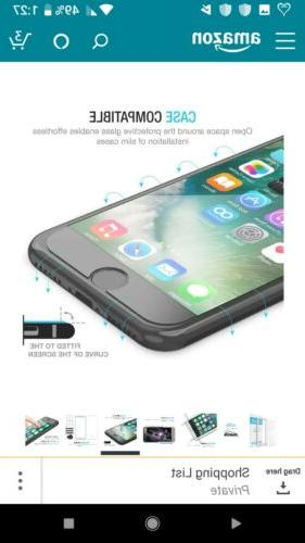 iPhone 7/8 Screen Protector, Maxboost Glass..
