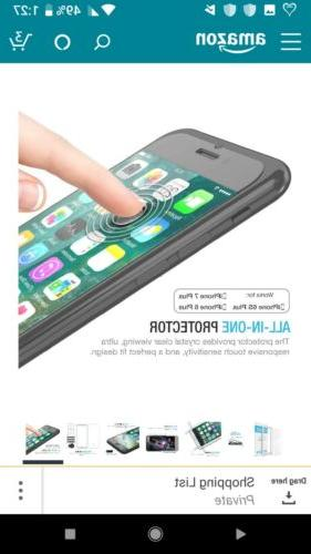 iPhone 7/8 Protector Tempered Screen