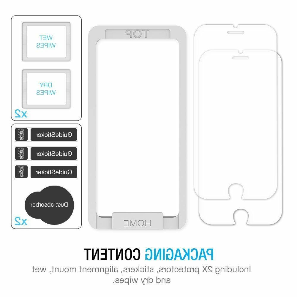 iPhone 8 Screen Protector Maxboost 3-Pack Tempered Screen