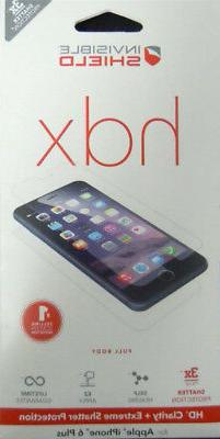 ZAGG InvisibleShield HDX Screen Protector- HD Clarity + Extr