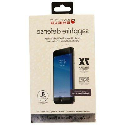 ZAGG InvisibleShield Sapphire Defense Hybrid Glass 7X for iP