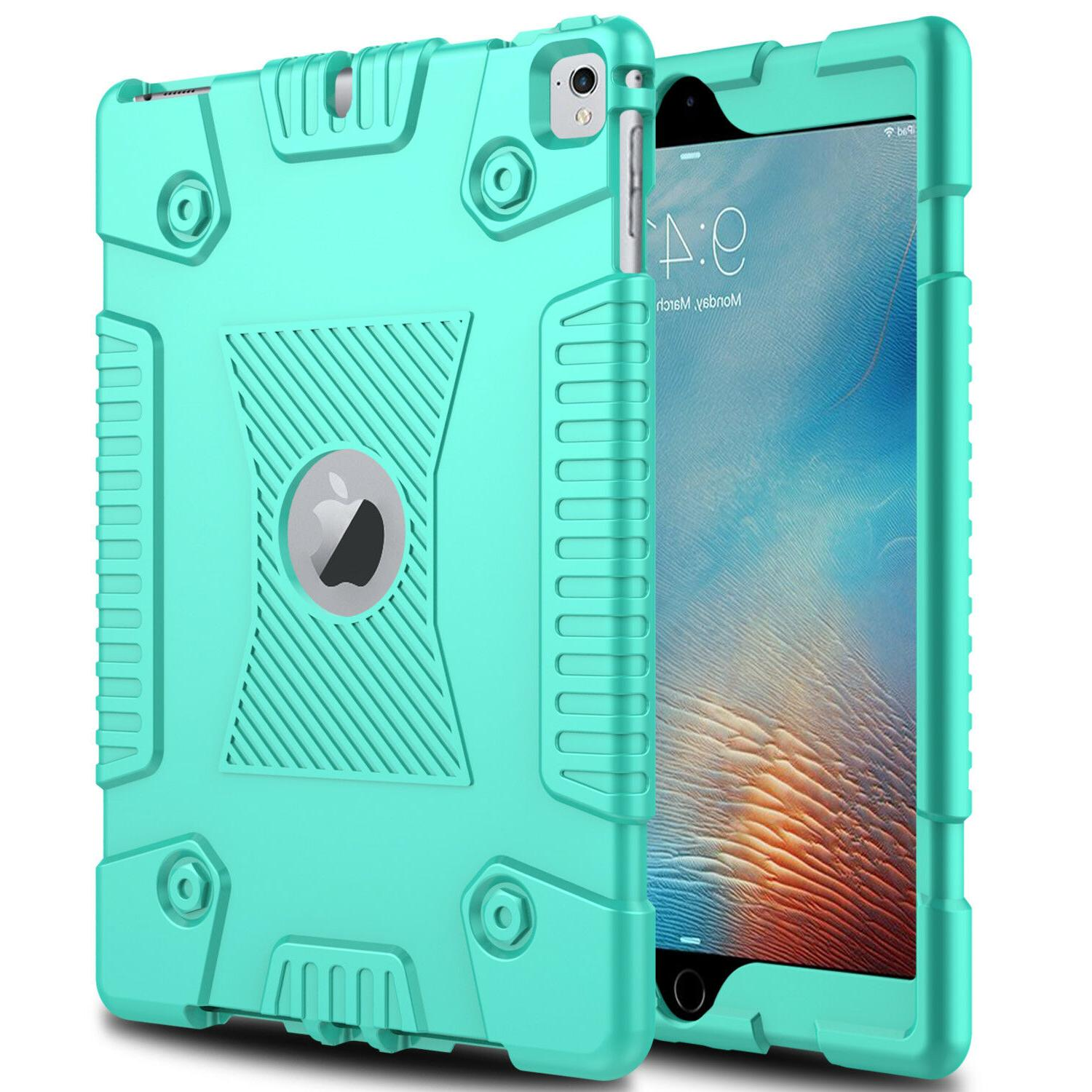 For 9.7 2018 Shockproof Soft Case+Screen