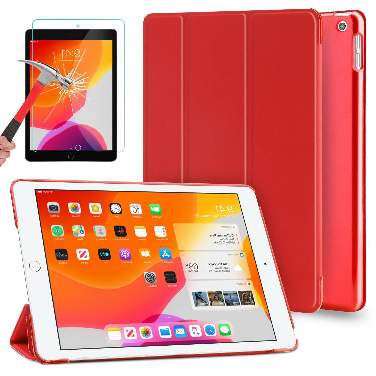For iPad Generation Case Cover/Tempered Glass