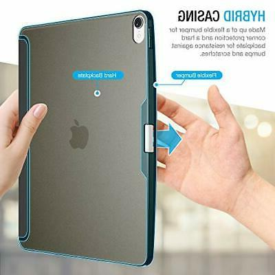 iPad 12.9 Case PU Slim Protective Black