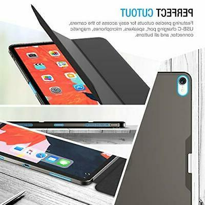 iPad 12.9 PU Slip Slim Fit Anti Scratch Protective Black