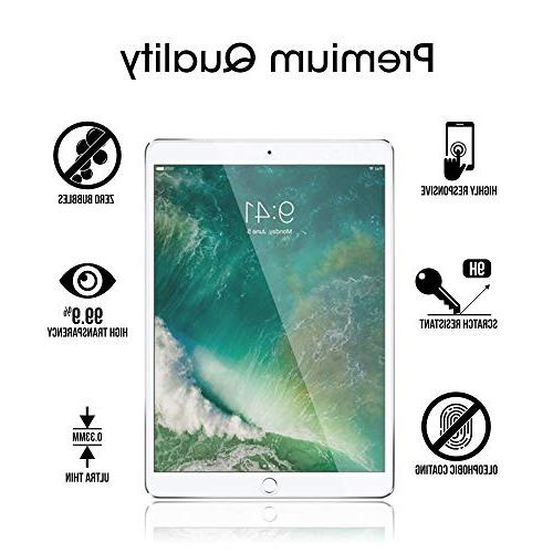 amFilm Pro inch Screen Protector Glass , Tempered Glass Protector Apple Pro Friendly and Apple Compatible 0.33mm 2.5D Rounded Edge