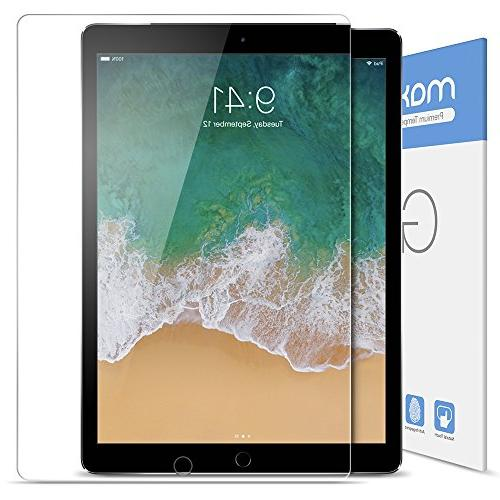 amFilm 10.5 inch Screen Protector , Glass Protector Apple iPad Pro Friendly Compatible 0.33mm 2.5D Edge