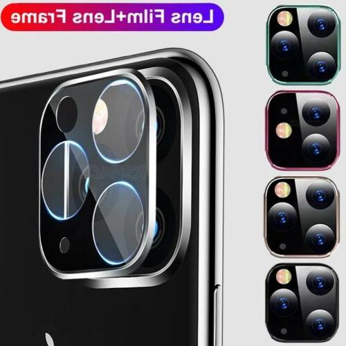 For iPhone 12 Pro FULL COVER Tempered Glass Camera Screen Protector