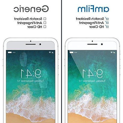 iPhone 8, 7, 6S, amFilm Tempered Glass Screen Protector 8, 7, iPhone 2017 2015