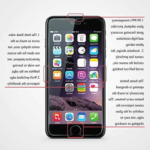 Ailun Screen Compatible with iPhone 7 Tempered Glass 8 Plus,7 Plus,Anti-Scratch,Case Retail
