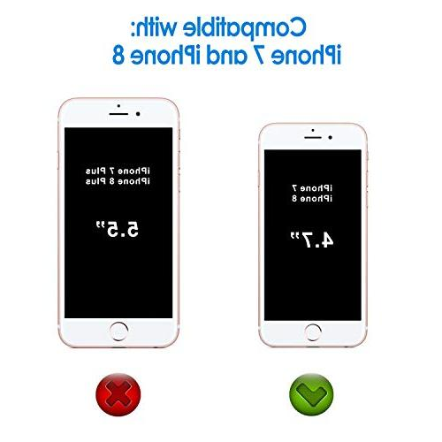 JETech Screen for Apple 8 iPhone 7, Glass Film,