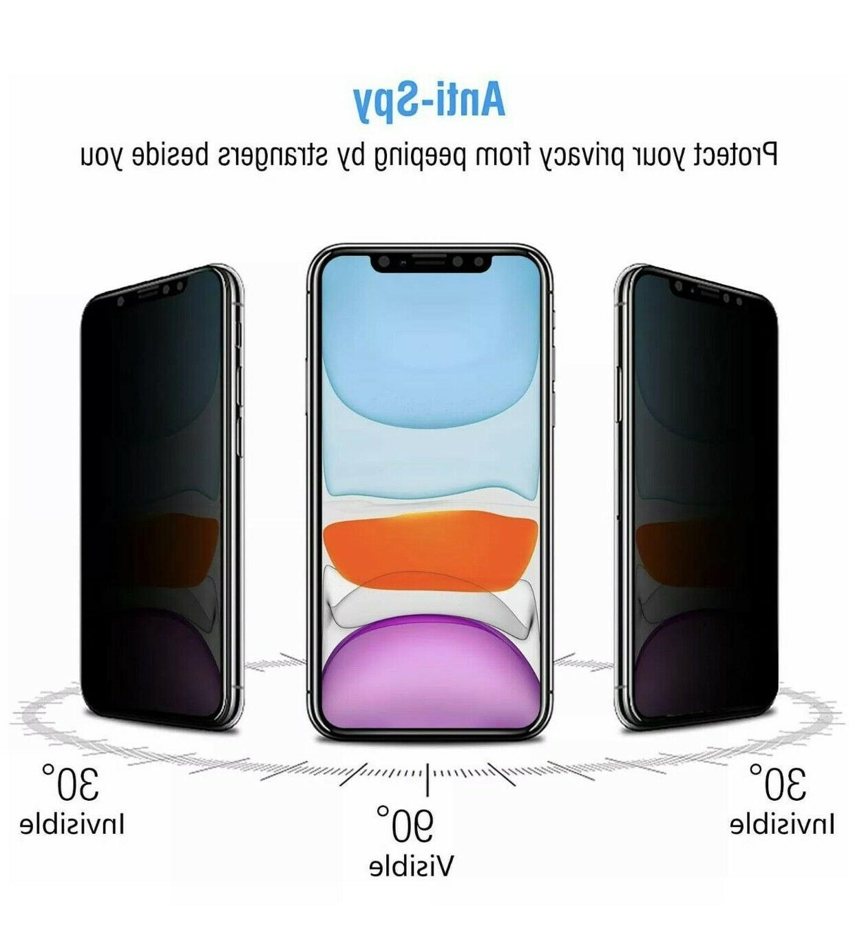 iPhone X XR XS 12 Pro Privacy Glass