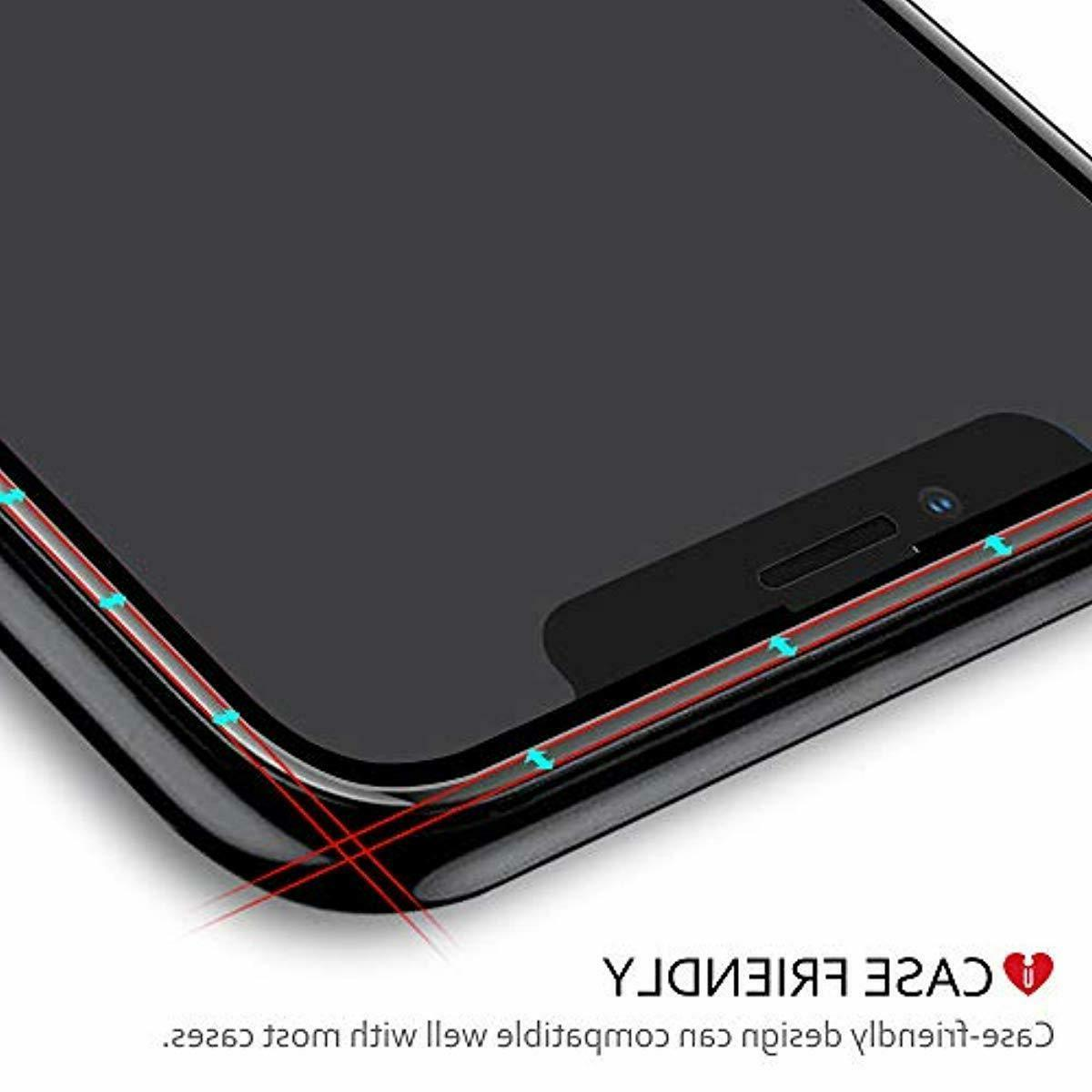 iCarez xs Full Coverage Glass Screen Protector for