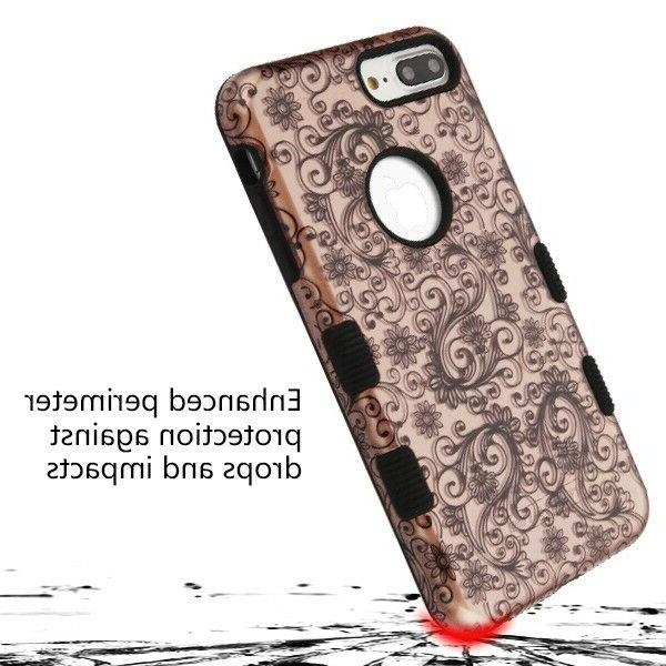For iPhone XS XR X Tuff Hybrid Shockproof Hard Case Cover +Tempered Glass