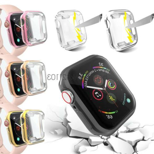 iwatch 40mm 44mm screen protector case snap
